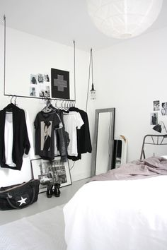 Top Unique Ideas: Minimalist Home Bedroom Decor minimalist living room small layout.Minimalist Home Bedroom Decor minimalist home entrance entryway.Warm Minimalist Home Mid Century. Bedroom Black, Dream Bedroom, Edgy Bedroom, Masculine Bedrooms, Neutral Bedrooms, White Bedrooms, Bedroom Small, Master Bedroom, Minimalist Bedroom