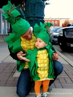 (she always loved) larking.: a corny family | DIY upcycled, repurposed family halloween costumes