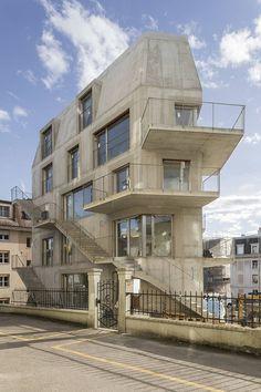 DREIER FRENZEL ARCHITECTURE + COMMUNICATION - 095 Immeuble Renens*