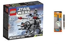 LEGO Star Wars AT-AT 88PCS & Star Wars Projector Pen, Colors may vary Playsets Building Toys ** To view further for this item, visit the image link.