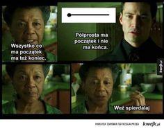 Koniec i początek Very Funny Memes, Love Memes, Wtf Funny, Best Memes, Hahaha Hahaha, Polish Memes, Stockholm Syndrome, Funny Mems, Quality Memes