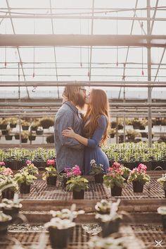 Winter Greenhouse Engagement