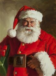 Santa Claus by Tom Browning Christmas Scenes, Father Christmas, Santa Christmas, Christmas Pictures, Santa Paintings, Christmas Paintings, Illustration Noel, Christmas Illustration, Santa Pictures