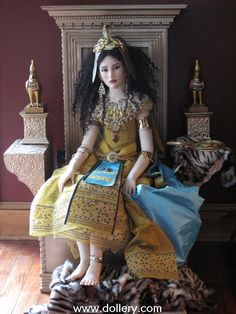 Cleopatra by Jamie Williamson One of a Kind Doll Artist