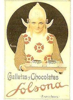 Publicidad de los años 40-50 de Solsona.Archivo del Museo de la Alimentación Español