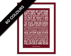 o captain my captain is a proof sheet corrections in ink by  o captain my captain by walt whitman history by foliocreations