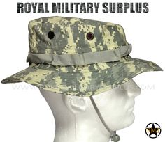 e310fb87ae0 This ACU Camouflage Pattern Military Boonie Hat is in use by US Army  Forces. Made