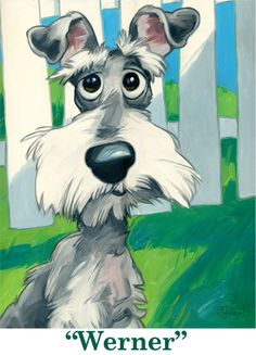 commission a dog painting... I love this style. May have to send my Shelby's pic in for a commissioned portrait!