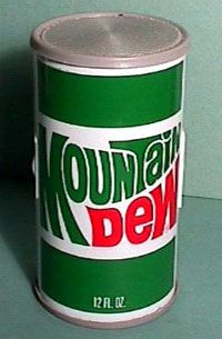 mountain-dew-radio can.I remember these. Mountain Dew, Good Ol, Soda, Canning, Advertising, Signs, Beverage, Soft Drink, Shop Signs