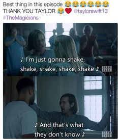 There are even Taylor Swift references and they're kind of amazing.