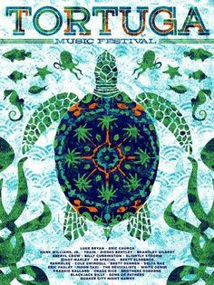 2013-2014 Poster Bundle (2-for-1) – Tortuga Music Festival