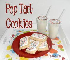 The Partiologist: School is Cool! - Pop Tart Cookies