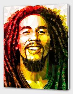 Bob Marley by Enrico Barrasso Bob Marley Painting, Bob Marley Art, Reggae Rasta, Rasta Art, Reggae Music, Bob Marley Desenho, Banksy, Bob Marley Shirts, Bob Marley Pictures