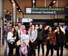 Welcome to our new custom Program group all the way from Valencia College Florida  #ISA #studiesabroad #isaabroad #studyingalway #isastudiesabroad #customprogram #valenciacollege #Florida #dublinairport #t2 #Ireland #explore #learn #discover #travel #wanderlust #theworldawaits by studyabroadingalway