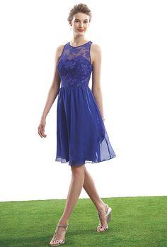 Riveting, Royal Blue Bridesmaids Gowns. #bridesmaids #blue #dresses #weddings