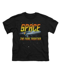 Look at this Black Star Trek 'Final Frontier' Tee - Kids on #zulily today!