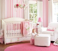 Baby Pink Room Nursery Bedding Decor Bedroom