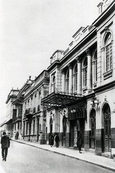 Teatro Municipal (1890-1952) Japan Spring, Study Abroad, Once Upon A Time, Spring Time, Caribbean, Louvre, Cinema, Street View, Architecture