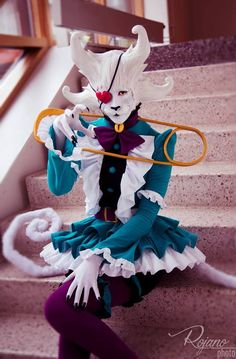 Spooky Boogie from Psycho Pass Cosplayer: Cat's Cosplay Kingdom