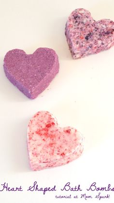 Valentine Day Crafts, Holiday Crafts, Valentines, Valentine Heart, Diy Craft Projects, Craft Tutorials, Homemade Gifts, Diy Gifts, Bath Bomb Recipes