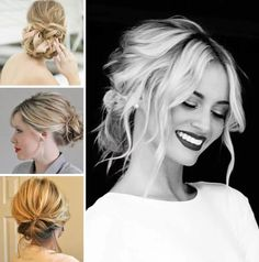 Formal Hairstyles For Shoulder Length Hair Tender Updos For Medium Length Hair Haircuts Hairstyles 2016 - Women Medium Haircut Easy Updo Hairstyles, Elegant Hairstyles, Formal Hairstyles, Hairstyles With Bangs, Formal Hairdos, Short Haircuts, Updos For Medium Length Hair, Short Hair Lengths, Medium Hair Styles
