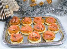Crème de butternut et saumon fumé sur blinis maison | Une cuisine pour Voozenoo