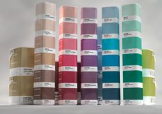 PANTONE HOME PAINT by Samy Halim, via Behance