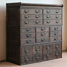 Wooden Storage Cabinets With Drawers