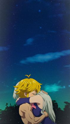 Kpop Anime, Otaku Anime, Anime Guys, Manga Anime, Seven Deadly Sins Anime, Elizabeth Seven Deadly Sins, 7 Deadly Sins, Animes Wallpapers, Cute Wallpapers
