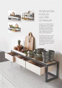 Dansk køkken design med et stort udvalg der gør det muligt at skabe din egne løsninger.