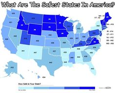 Us State Map, Us Map, United States Map, U.s. States, Happy Facts, Fun Facts, Reasons To Live, 13 Reasons, Life Map