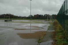 Waterlogged Outdoor Hockey Pitch Maintenance