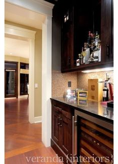 Though not absolutely a given, the door casing comes from the same family of trim profiles as the window casing.
