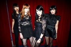 Dum Dum Girls stream soundtrack to dream pop heaven. Rock Star Outfit, Dream Pop, Indie Music, Girl Bands, In Pantyhose, Music Love, Street Chic, Ikon, Get Dressed