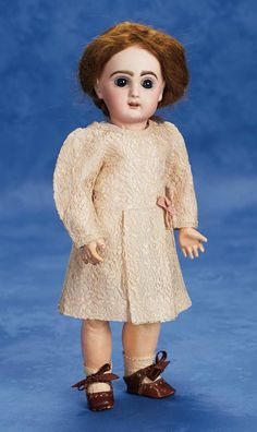 """French Bisque Bebe """"Bleuette"""", Premiere Model of 1905"""