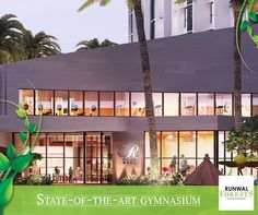 Amp up your fitness goals at the state-of-the-art gymnasium within the sprawling clubhouse at Runwal Forests.