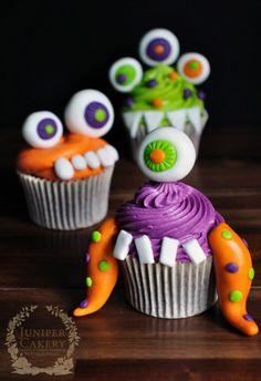 Little Monsters: 5 Spook-tackular Halloween Cupcake Ideas for Kids