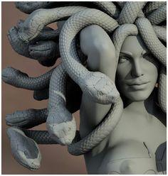 I have an unhealthy love of Medusa