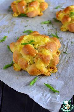 """Булочки с сыром """"Много сыра"""" - кулинарный рецепт"""