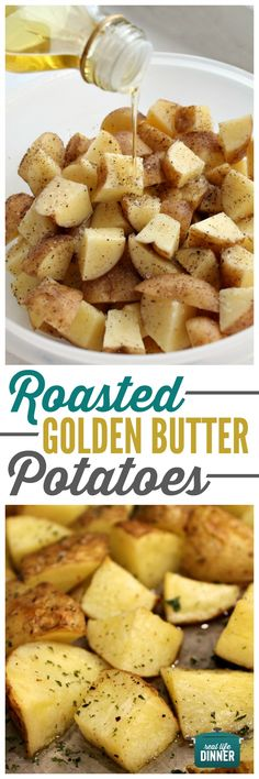 Fan-Freaking-Tastic doesn't even begin to describe how awesome these are. The golden potatoes make all the difference. These are a must make and sooo easy!!!! ~ http://reallifedinner.com