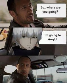Tokyo Ghoul lol best one of these so far