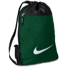 Nike Team Training Gymsack Bag ($18) ? liked on Polyvore featuring men\u0027s  fashion,
