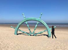 Beaufort 2018 – Skulpturen an der Küste von Flandern #kunst #flandern #strand #reisen