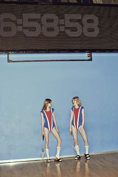 Credit: Jon Gorrigan for the Guardian Nicole and Beth both wear bodysuits, £30, by