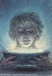 John Howe :: Illustrator Portfolio :: Home / From Hobbiton to Mordor / Cards and Such / Entdraught John Howe, Ecole Art, Middle Earth, Lord Of The Rings, Tolkien, Lotr, The Hobbit, Fantasy Art, Two By Two