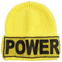 Versace Women Power Knitted Wool Beanie Hat