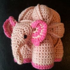 Crochet Elephant Puzzle Pattern
