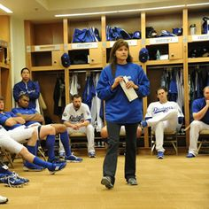 Profile of Sue Falsone, the first female head athletic trainer in major sports