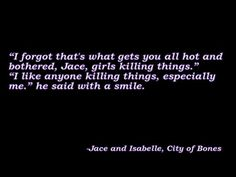 mortal instruments movie quotes - Google Search