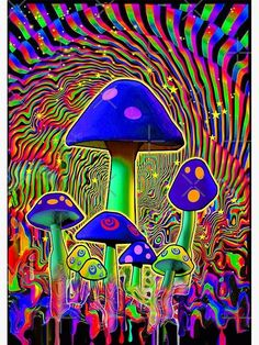 Hippie Painting, Trippy Painting, Neon Painting, Hippie Wallpaper, Trippy Wallpaper, Psychedelic Art, Psychedelic Makeup, Trippy Pictures, Arte Indie